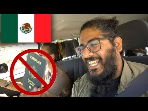 MEXICO BORDER CROSSING NO PASSPORT! - Tijuana San Diego