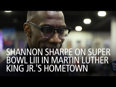 Shannon Sharpe On Super Bowl LIII In Martin Luther King Jr.'s Hometown Mp3