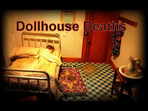 Death in the Dollhouse (amazing dioramas of true crimes) Frances Glessner Lee