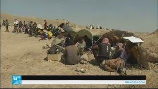 العراق: مئات الأشخاص يلجؤون إلى البشمركة هربا من تنظيم الدولة الإسلامية