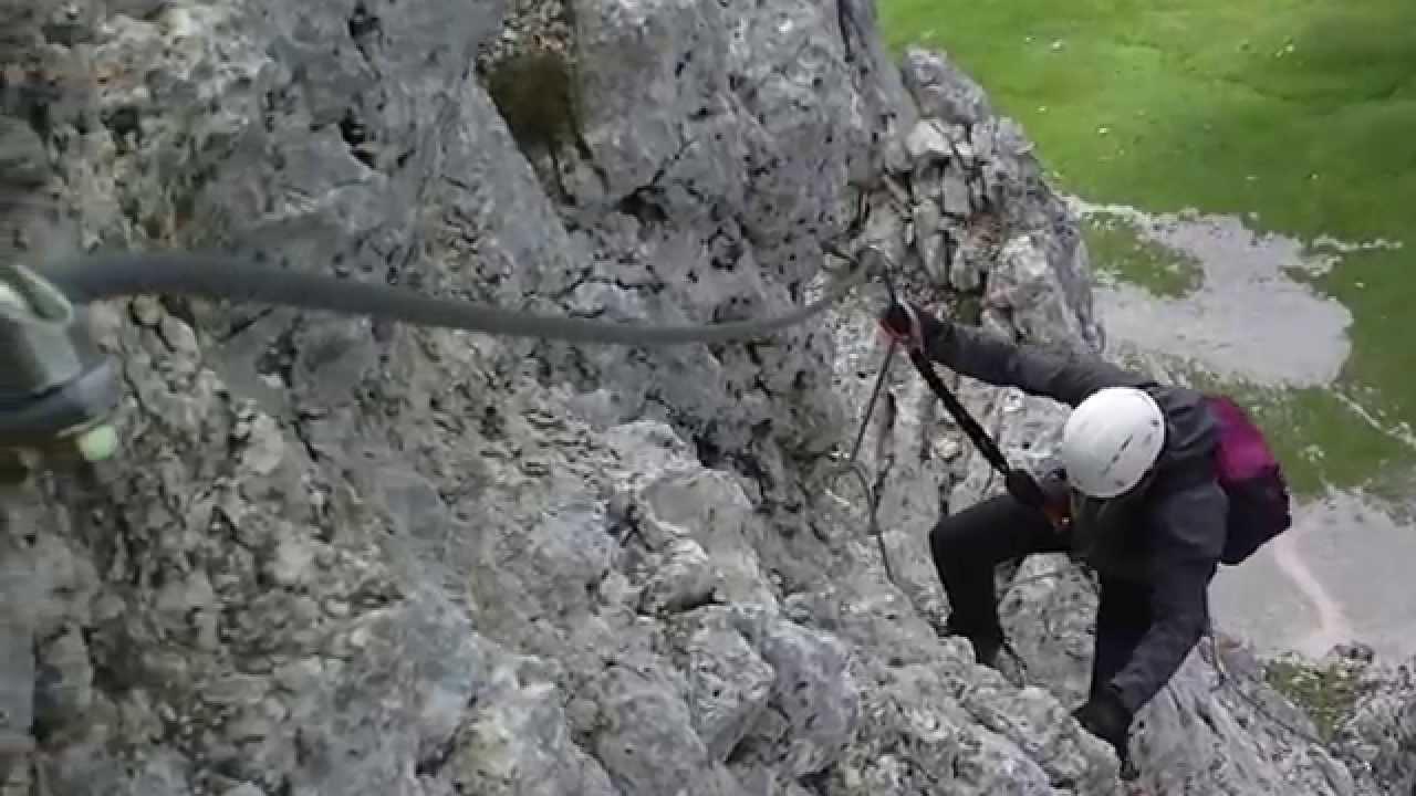 Klettersteig Köllenspitze : Klettersteig köllenspitze kellenspitze m youtube