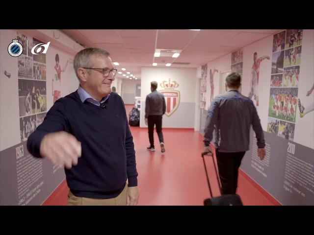 6Dressing room tour Stade Louis II I CHAMPIONS LEAGUE   2018-2019