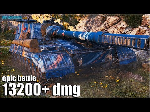 13к урона ЭПИК развязка ✅ World Of Tanks Объект 268 вариант 4 лучший бой