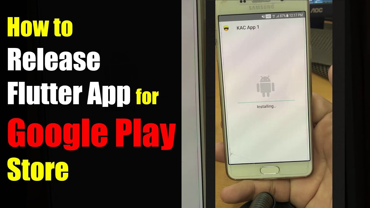 How to Release Flutter App Preparing for Google Play Store
