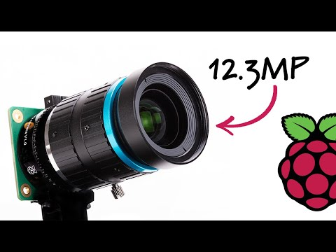 Raspberry Pi announces $50 12-megapixel camera with interchangeable lenses