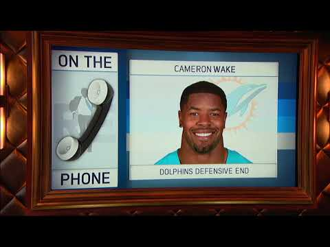 Miami Dolphins DE Cameron Wake Talks Life Before The Dolphins - 8/14/17