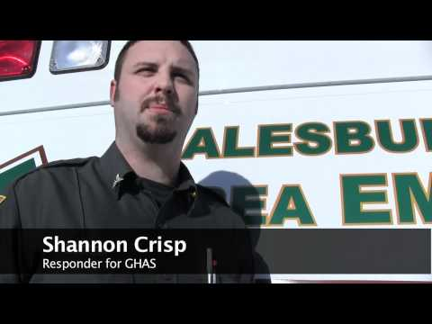 Galesburg Hospitals' Ambulance Service - Emergency vehicle driving course