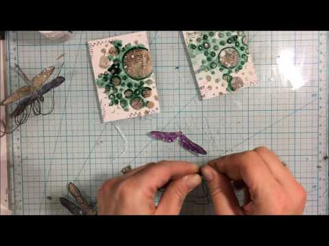Mixed Media ATC Step By Step Tutorial