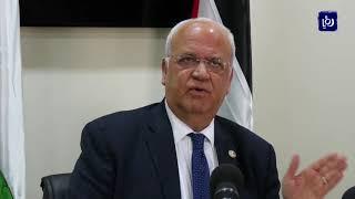 القيادة الفلسطينية تحشد المواقف الدولية للتصدي للإعلان الأمريكي بشأن المستوطنات (19/11/2019)