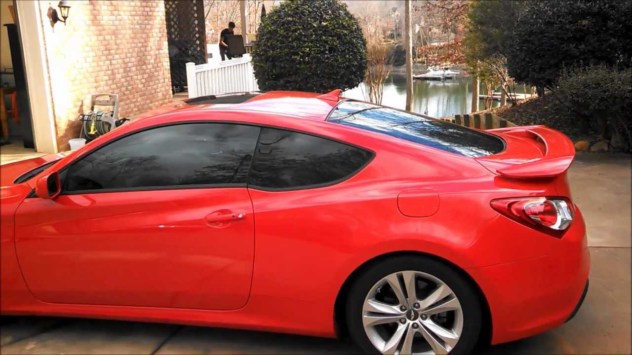 Red Window Tint >> 35 Window Tint Genesis Coupe