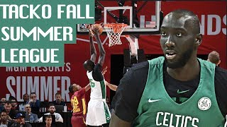 Undrafted Tacko Fall Dominates Three Straight NBA Summer League Games REACTION EP 16   FERRO REACTS
