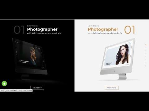 Novo - Photography Studio Photographer WordPress Theme | Photo Agency Theme