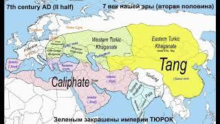 История Казахстана, Китая и России за 5 минут