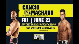 DAZNxGBP: Andrew Cancio vs Alberto Machado 2 #CancioMachado2