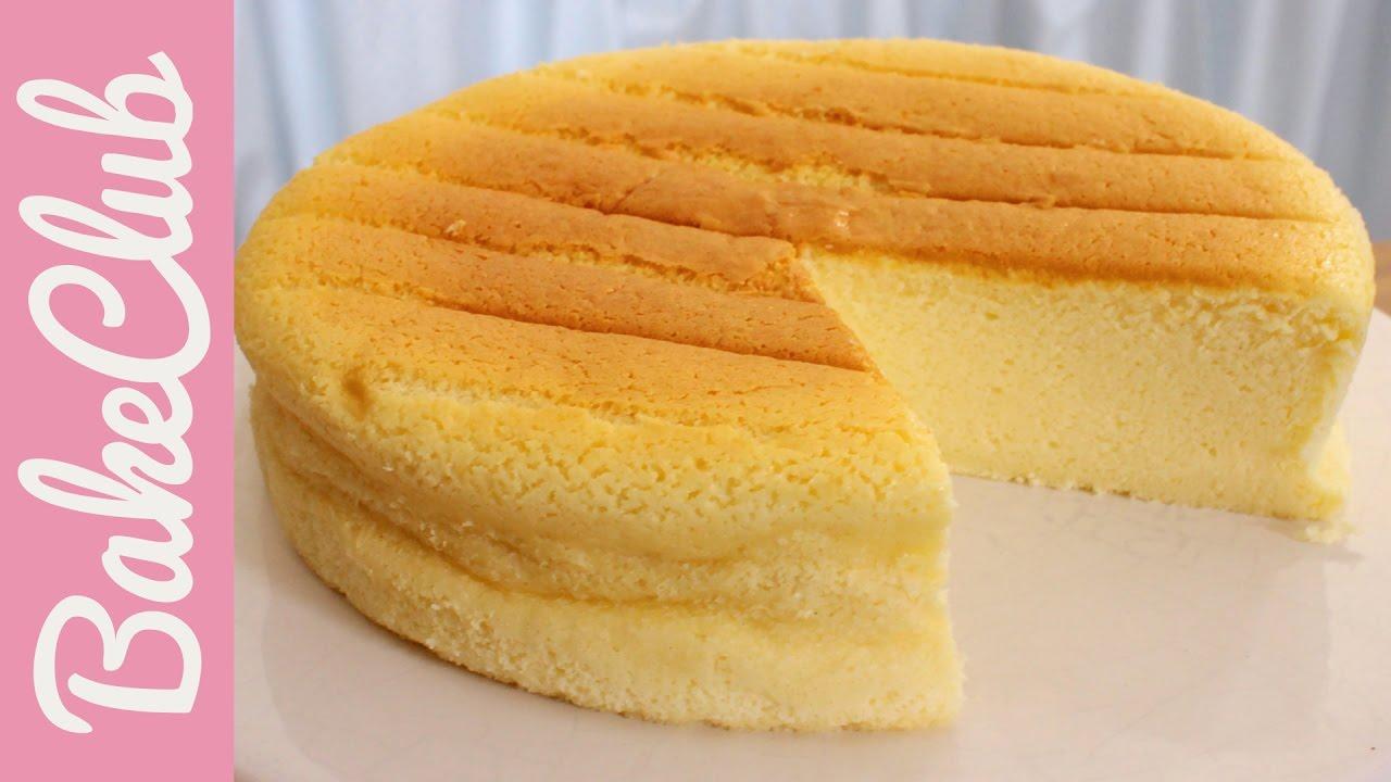 Japanischer Cotton Cheesecake Kasekuchen Bakeclub Youtube