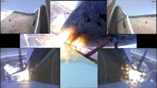STS-132 Space Shuttle Launch & 6 Booster Cameras