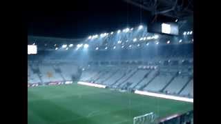 settore ospiti juventus stadium ingresso tifosi del catania (18/02/2012)