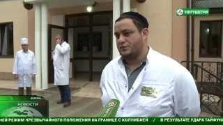 Юнус Бек Евкуров навестил боксера Ислама Темурзиева
