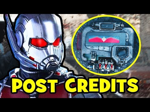 Ant-Man & The Wasp POST-CREDITS Explained...