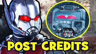 Ant-Man & The Wasp POST-CREDITS Explained - Avengers 4, Captain Marvel & Infinity War Theory