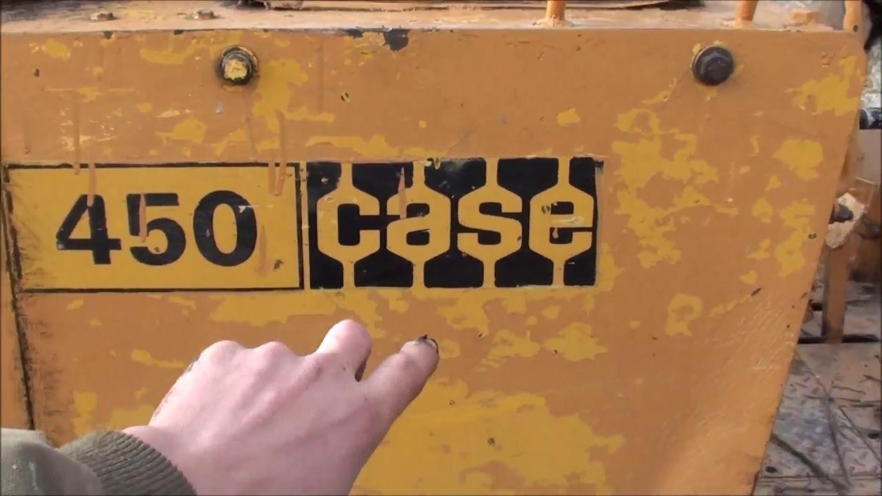 Case 450 Dozer tips and maintenence