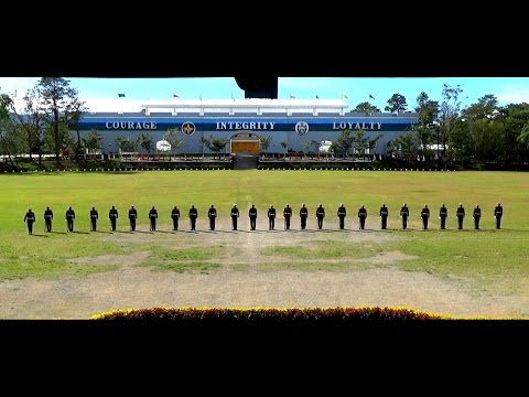 Philippine Marine Corps Gun Drill and Exhibition at PMA Bagu