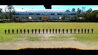 Philippine Marine Corps Gun Drill and Exhibition at PMA Baguio city