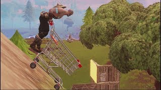 FORTNITE-THE SECRET SUPERMARKET CART ATTACK