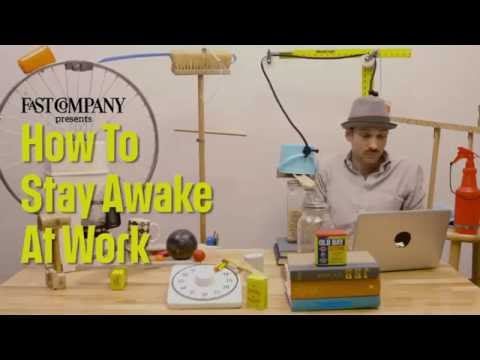 How to stay awake at work - YouTube