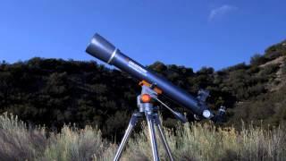 AstroMaster LT 70AZ Telescope Tour