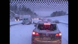 Kolarisuma, ketjukolarit 03.02.2012 Lahdentiellä, E75.