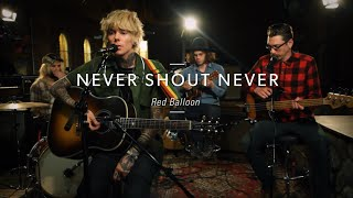 "Never Shout Never ""Red Balloon"" At Guitar Center"
