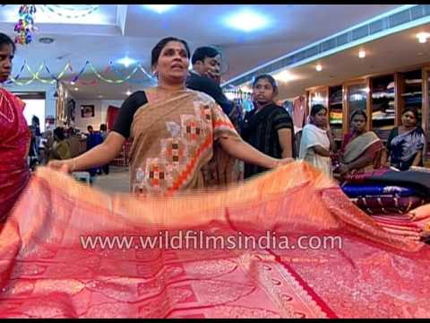 Exclusive collection of Kanjeevaram silk sarees from India
