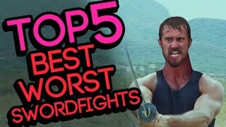 TOP 5 Best Worst Sword Fights