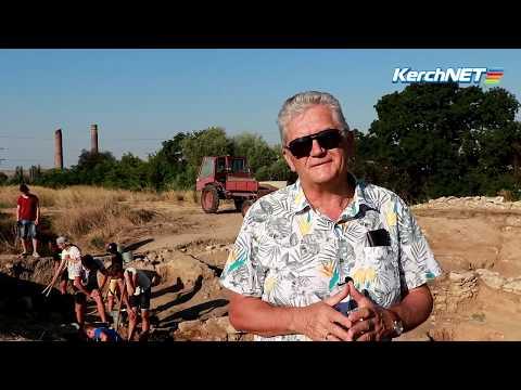 kerchnettv: Керчь: волонтеры изучают городище Тиритака