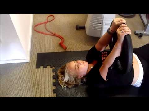 Gym and mobility workout for golf