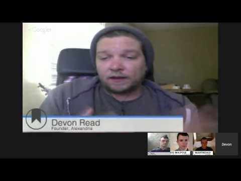 Devon Read and Ryan Taylor talk Alexandria and Digital Culture