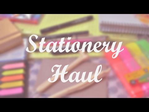 Stationery Haul Pharmacy Student [Uni/College/school supplies] | REEM
