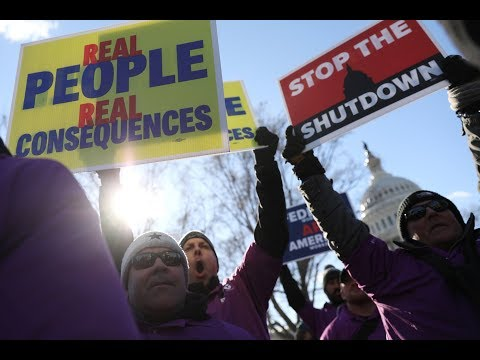 As shutdown drags on, 'interesting dynamics' appear on Capitol Hill
