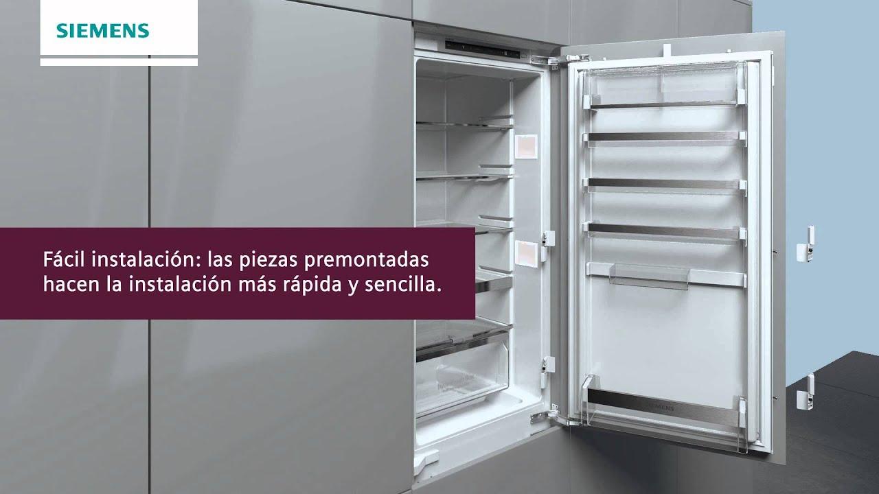 frigorficos integrables siemens