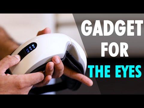 Tech It Out: A portable eye massager