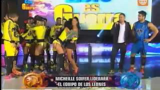 Esto es Guerra - Michelle Soifer es la nueva capitana de los Leones - 07/09/2015