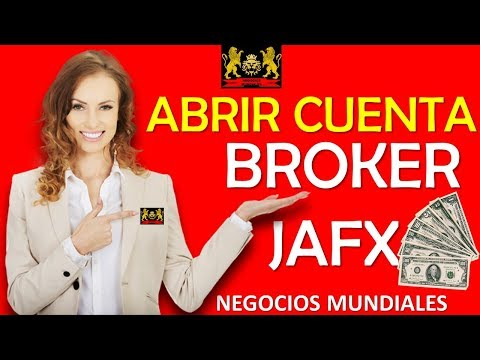 IML iMarketslive -Crear cuenta broker JAFX en español 2017- crear cuenta broker jafx 2018 -jafx demo