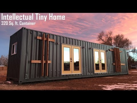 The Intellectual Tiny Home Built From 40 Ft Container