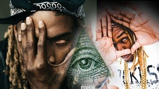 iLLUMINATI Rapper Fetty Wap claims Proudly