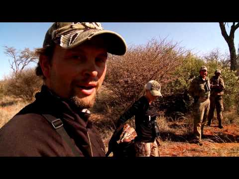 Bone Collector - AFRICA -  Michael Shoots Impalla with a Hoyt Bow - 2012