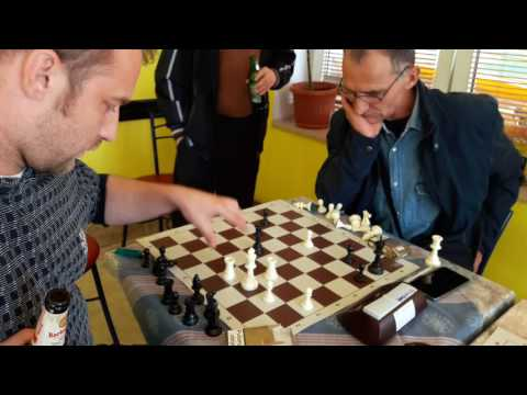 A very intense chess game between father and son - Jozarov VS Slavko