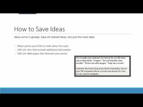 Ideation and Research for Content Writers