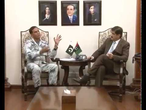 Sindh Chief Minister Murad Ali Shah meets Rear Admiral Ather Mukhtar