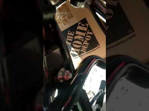 { Instruction }Harley Dyna Street Bob Fatbob Engine Crash Guard (C34)